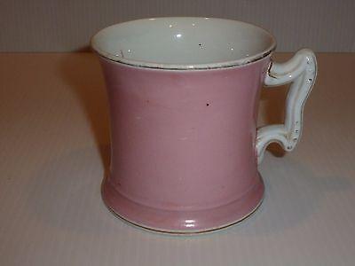 Vintage Maddock   Co  Burslem Pink Mug  Stone China