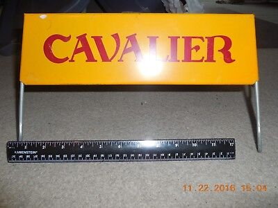 Orig CAVALIER Tire Store Display Sign Gas Station Repair Shop Gas Oil Auto Ad - Cavs Store