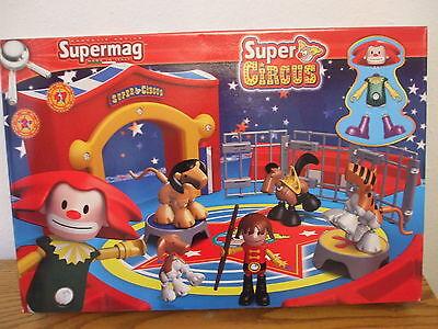 Supermag Circus Cirkus Zirkus 47 Teile ab 2 JahreNEU / OVP
