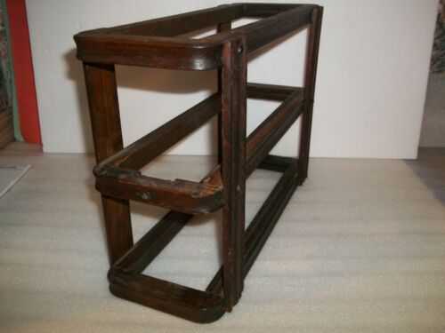 Singer Treadle Sewing Machine Drawer Frame Right Side Dark Finish