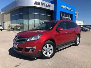 2013 Chevrolet Traverse LT SUNROOF HEATED SEATS 7-PASS BLUETOOTH