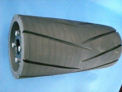 Conveyor Pulley Rubber Drum Roller 12x 5-58 Bushings 1-38xt 15 1 716