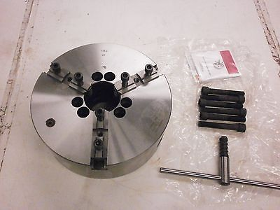 Brand New Toolmex Bison Bial 12.5 3 Jaw A1-8 Mount Lathe Chuck 7-801-1218 753so