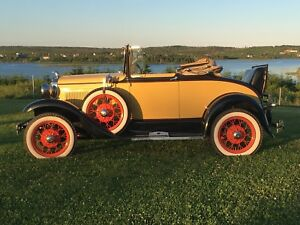 1930 Model A Cabriolet Custom Deluxe