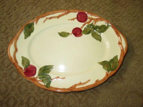 "TABLE DECOR Mid-Century FRANCISCAN APPLE 14"" Oval Platter"