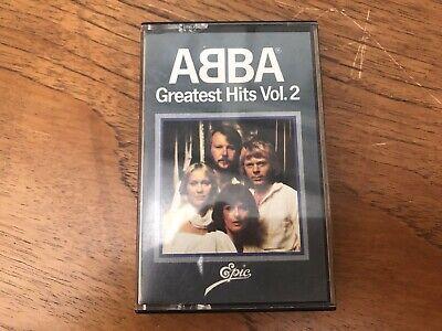 Vintage Abba Greatest Hits Vol 2 Cassette