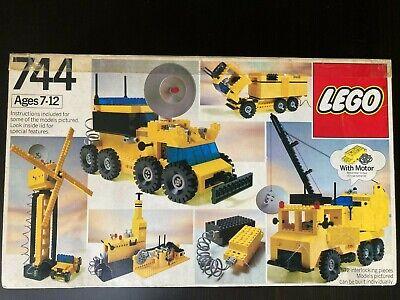 Lego 744 Universal Building Set PLUS Rare Extras