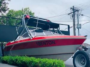 Haines Signature 18ft 200Hp Yamaha Outboard * Trailer   Boat Long Rego Auburn Auburn Area Preview
