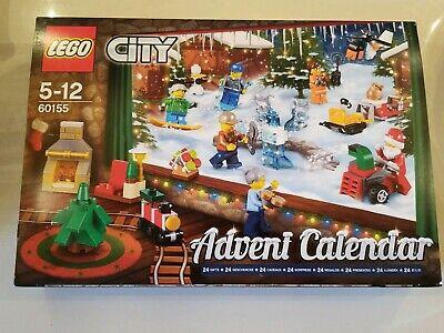 LEGO City Advent Calendar 60155 Building Kit 248 Piece Christmas Kids Toys Games