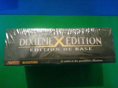 MRM FRENCH Boite de 36 boosters Xème Edition - Tenth Edition Box MTG magic