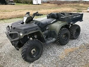 2011 Polaris Industries Sportsman® Big Boss® 6X6 800