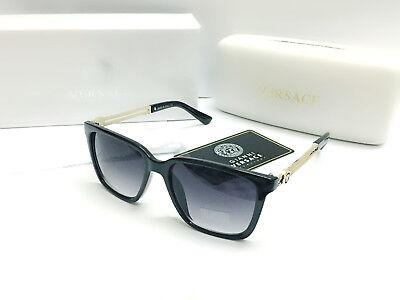 Mens Versace VE4307 Black-Less golden/Black Mens Sunglasse