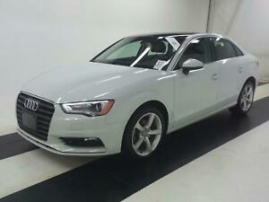 2015 Audi A3 TDI KOMFRT|ONE OWNER|SUNROOF|53,000KM|DIESEL !!