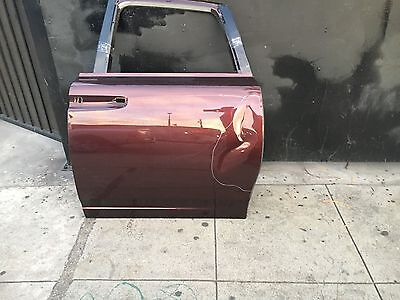 ROLLS ROYCE GHOST DOOR SHELL/ LEFT SIDE DRIVERS REAR (SHORT WHEEL BASE) &HINGES