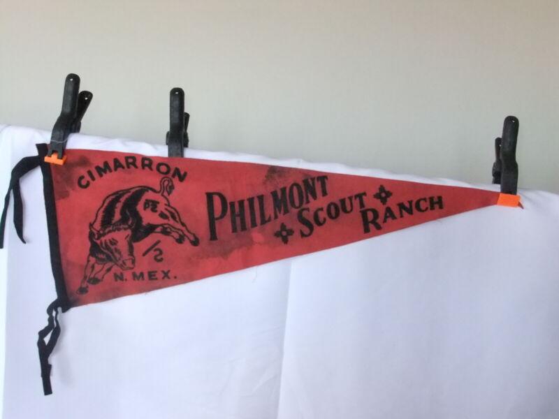 Boy Scout Philmont Ranch Felt Pennant 6278GG