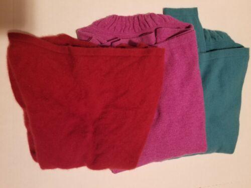 Cashmere Cutter Lot 3 Pc Women Sweaters 100 Cute Colors - $15.00