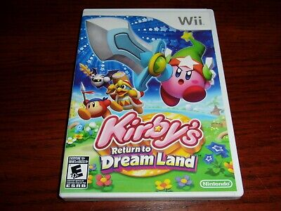 Nintendo Wii Kirby's Return To Dream Land 2011 Video Game