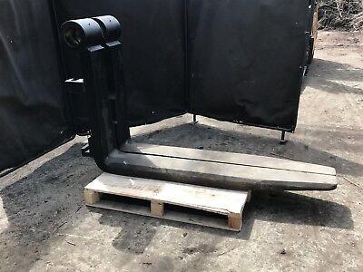 Steel Coil Chamfered Forklift Forks.
