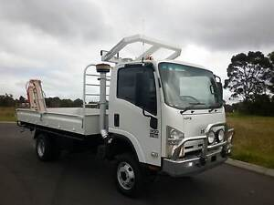ISUZU NPS 300, 4x4, TRAY TOP & CRANE Glen Iris Bunbury Area Preview