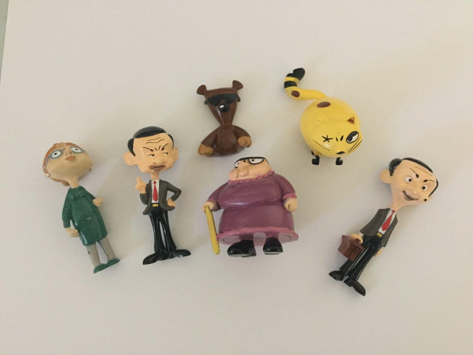 Mr Bean Figuren Sammel Spiel Scapper,Mrs Wicket,Teddy,Irma, Neu Ovp