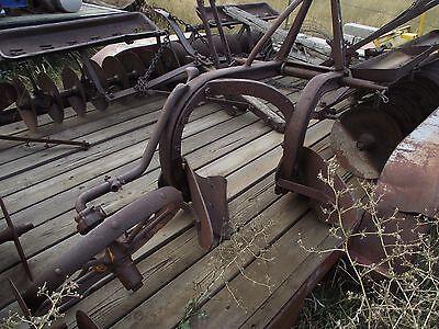 Antique farm equipment