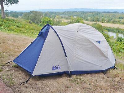 Rare Two Door REI Geo MTN 3 Person Four Season Mountaineering Sturdy Setup -