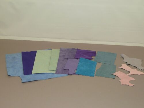 Various Pieces of Ultra Suede Teddy Bear Making Material