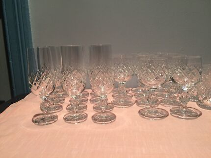 Crystal glassware