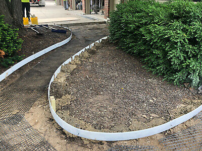 Plastic Flexible Forms For Concrete Flatworkcurbs 4 In X 32 Ft Walttools