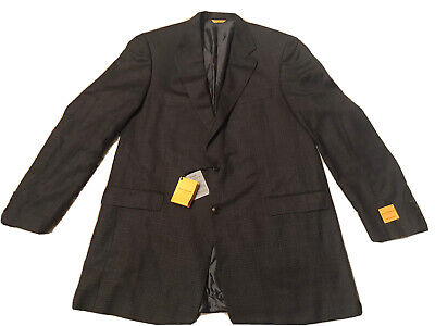 Hickey Freeman New York Traveler Blazer Jacket Size 54 Long $1,195 NWT