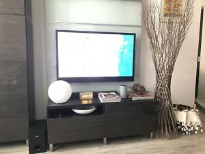 Ikea besta - tv stand and shelf unit