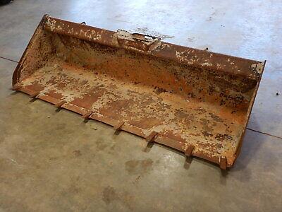 78 Used Universal Skid-steer Loader Tooth Bucket