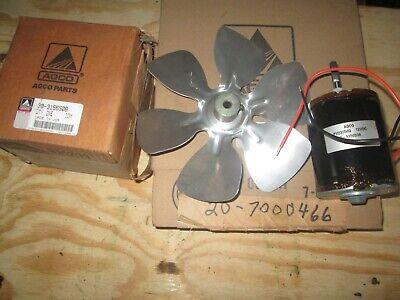 Oliver Tractor 1755185519552255 Brand New Back Condenser Motor Fan Nos