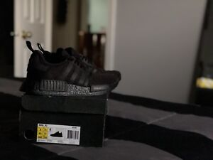 Triple Black NMD's in size 8 men's
