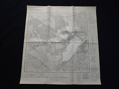 Landkarte Meßtischblatt 3643 Werder, Glindow, Geltow, Plessow, Ferch, 1941