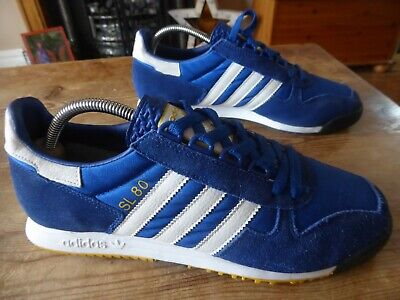 mens vintage adidas SL80 - size uk 8 ( 2010 ) great condition !