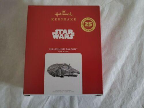 Hallmark 2021 Millennium Falcon Star Wars 25th Year Keepsake Ornament