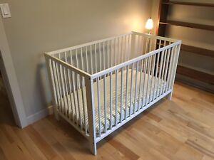 Crib + Crib - IKEA Gulliver - perfect condition  - $120