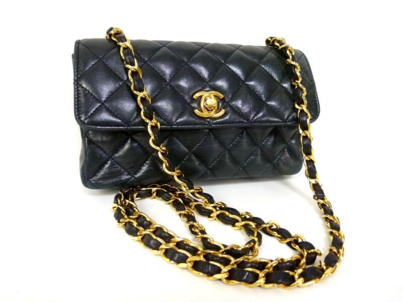 Small Chanel Bag Black Ebay