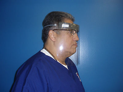 Face Shield Medical Veterinary Lab Dental - 2 Cases Of 40 Each