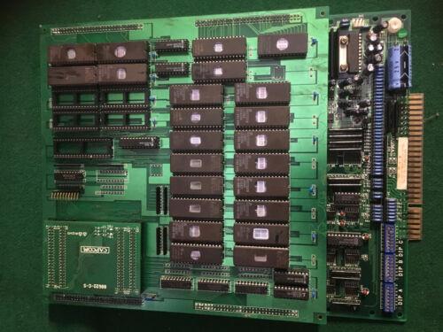 THREE WONDERS CAPCOM ARCADE PCB JAMMA ORIGINAL A B C BOARDS COMPLETE
