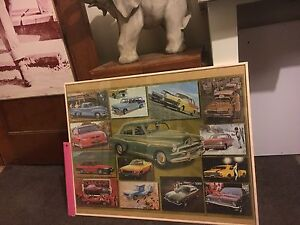 Holden puzzle in frame Kingston South Canberra Preview