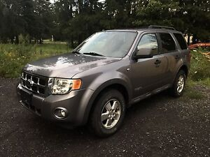 2008 Ford Escape XLT V6 AWD safety etest included