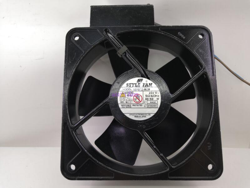 For US18F22-MGW AC220V JapanSTYLEFAN 18CM Full Metal Heat Resistant Fan