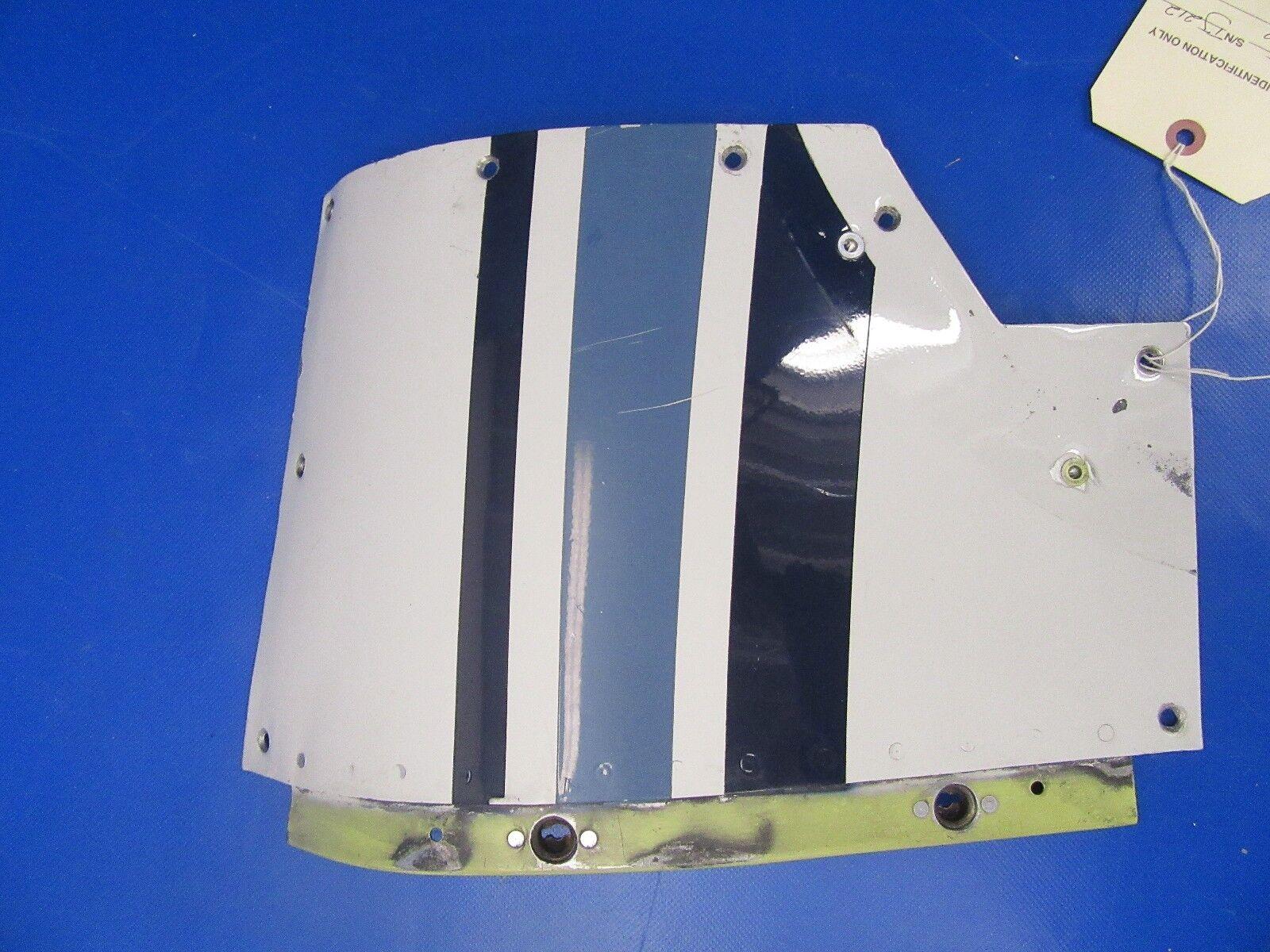 Beech Baron 58P Cowl Door Skin RH P/N 102-910018-31 (0418-77)