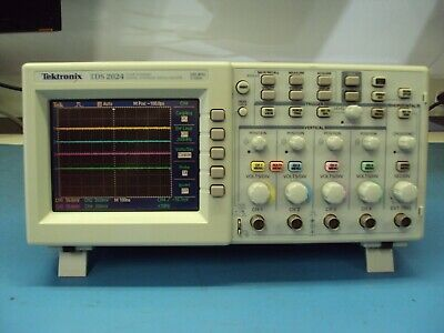 Tektronix Tds2024 4 Channel 200mhz Oscilloscope