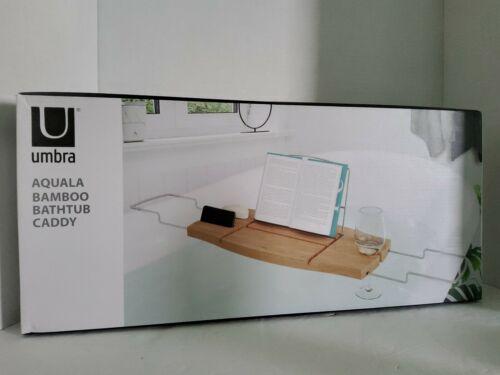 Umbra Aquala Bathtub Caddy Tray Bath Table Organizer Shower
