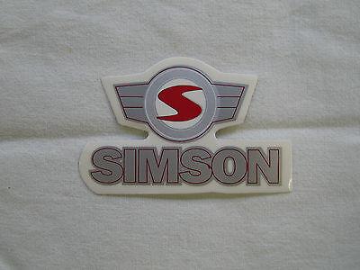 Schriftzug Aufkleber / Klebefolie  Simson