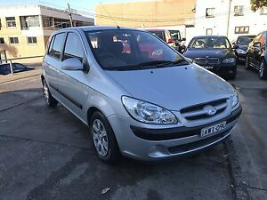 27 OCTOBER REGO! AUTO! 77,000 kms! 2005 Hyundai Getz Canada Bay Canada Bay Area Preview