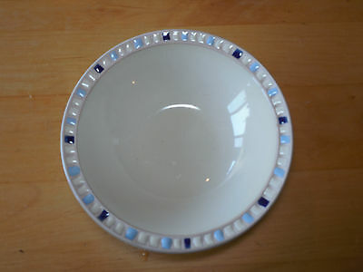 Dansk Studio COMPASS BLUE Soup Cereal Bowl 7 5/8
